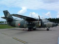Latvian L-410 @ RAF Waddington 2004 (craigmartin787) Tags: raf waddington airshow aircraft airplane military latvian air force 145 let l410 aviation