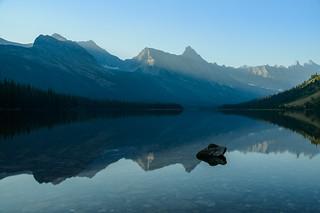 Elizabeth Lake Alpenglow