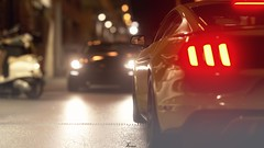Encounter (Jérémy C. (Kodje)) Tags: gtsport gran turismo sport voiture car playstation ps4 photomode automotive ford mustang gt premium fastback 2015 gtp gtplanet granturismo fordmustang bokeh night nurburgring allemagne germany paddock gpcircuit stands circuit