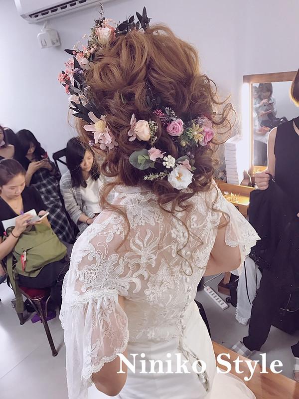 頭髮,髮型,課程,教學,新娘,設計,教課,2017,高雄,葳妮婚紗飾品,髮飾,飾品,髮夾