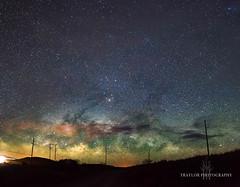 Milky way on the horizon (Traylor Photography) Tags: lights nightsky landscape milkyway stars saddleroad colors maunakea panorama bigisland hawaii bradshawarmyairfield waimea unitedstates us