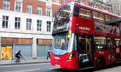 Metroline VWH2331  on route 98 Charing Cross road 29/10/17. (Ledlon89) Tags: bus buses london transport tfl londonbus londonbuses londontransport centrallondon transportforlondon
