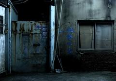 Deserted street - Chiayi (Chapo78) Tags: taiwan chiayi street city wall night dirty