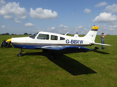 G-BBXW Piper PA-28-151 Cherokee Warrior cn 28-7415050 Sywell 02Sep17 (kerrydavidtaylor) Tags: orm egbk pa28