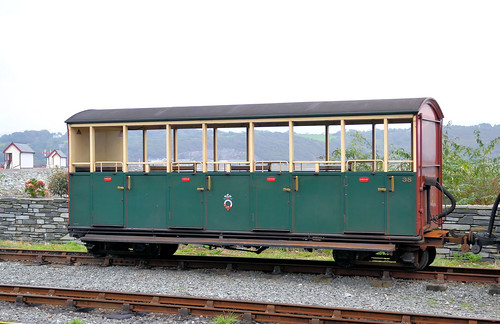 Ffestiniog Railway Carriage 38