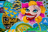 Propaganda (Johnny Silvercloud) Tags: canon canon5dmarkiii curves graffiti lightroom5 mural urbanfragments colors lines murals painting spraypaint wall wallart