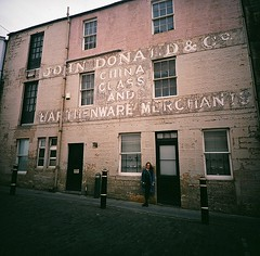 (golfpunkgirl) Tags: lomo lomography negfilm begativefilm film 120 mediumformat lca120 travel friends bestfriends pepper edinburgh scotland holiday sept2016 2016