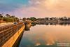 Reflection !! (Vinod Khapekar) Tags: landscape water futallaqe nagpur india reflaction sky cloud people life evening canon5dmarkii vinodkhapekar