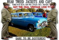 Get the  real vintage look  part 12 (80s Muslc Rocks) Tags: nz newzealand car cars auto autos vehicle vehicles retro vintage club rally vintagecar oldcar canon cavalrytwilltorusers wool plaid scottish scotland british uk thetweedride tweedflatcap cheesecutter gent man fashion oldschool houndstooth outdoor sky grass oldcars parked carshow poster artwork manwearingtweed wearrtweed yorkshire auckland whangarei tauranga gisborne hastings napier hamilton newplymouth plamerstonnorth wellington nelson christchurch dunedin invercargill distinguishedgentlemensride sydney london melbourne