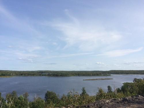 Sudbury lakes sky