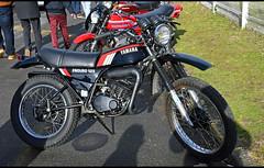 Yamaha DTMX 125 (baffalie) Tags: moto ancienne vintage classic old bike motorbike retro expo aquitaine gironde 33 sport motocycle racing motor show collection club