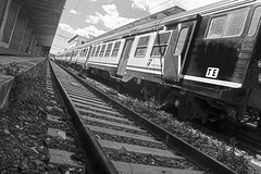 Train (giusyfrassica) Tags: train trainstation station blackandwhite whiteandblack canon550d canon messina binari photography photographers photo beautiful love picoftheday flickrsicilia flickr