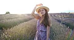Valensole (Lauriep.hotography) Tags: valensole lavande champs portrait ciel sunset girl
