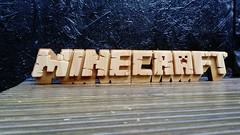Minecraft (MM ©) Tags: minecraft gamer wood woodwork woodenletters woodart woodsign handmade ttk wwwttk72couk decor homedecor unique uniquegifts design interiordesign bespoke custom thosethatknow madetoorder madeinengland worldwideshipping woodgraffiti