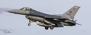 US Air Force F16CM Fighting Falcon