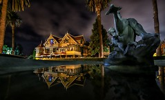 Winchester Mystery House, Halloween (Matt Straite Photography) Tags: haunted victorian winchester mystery scarry ghost mansion halloween color sky clouds canon fountain spooky claw spirit spirits architecture crazy creepy old phantom