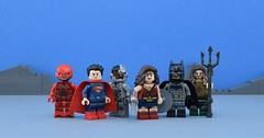 LEGO Justice League👊 (Alex THELEGOFAN) Tags: justiceleague superheroes dccomics batman superman movie lego legography minifigure minifigures minifig minifigurine minifigs minifigurines cyborg super heroes dc comics mountain rock sky band gang aquaman black flash the