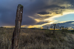 _DSC6388 (JuanCarlossony) Tags: nubes tormenta sony 1855mm slta58 storm clouds heaven wood valla fence landscape