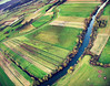 Ancient riverbeds (kap_jasa) Tags: kiteaerialphotography kite flying river romans romanempire ljubljanica ljubljanamarshes ljubljana podpeč slovenia history archaeology landscape kap