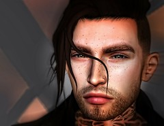 Reflection. *Model (Aaron)* (♡ Nastasya ♡) Tags: inaband drummer american withlovefromlilhomie bighomie reshade friends myfriend greeneyes friendship photoshop lumipro handsome signature andrea lelutka secondlife portrait
