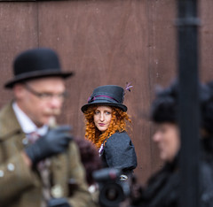 IMG_0696 (mally.d) Tags: girl crich derbyshire 6d hat people 70200mm faceinthecrowd redhead