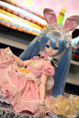 Hatsune Miku (Lumiel's Dream) Tags: dollfie dream dd dollfiedream bjl vinyl volks doll anime custom kei lumiel miku hatsune bunny hatsunemiku vocaloid cute