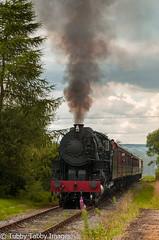 20170805-_CNH6809.jpg (bigbarney130) Tags: ipstonessummit preserved staffordshire churnetvalleyrailway nikond300 s160 historictransport train preservedsteam heritage 5197 usatc cvr steam