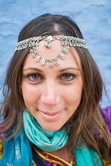 Rajasthan - Jaisalmer - Me wearing jewellry-3