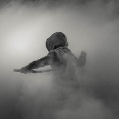 (Svein Skjåk Nordrum) Tags: bw bnw blackandwhite woods misty fujikonakaya square noir nero monochrome