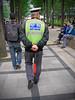 Best Driver Walking (Mondmann) Tags: bestdriver walking uniform seoul korea rok southkorea republicofkorea asia eastasia street streetphotography pedestrian mondmann canonpowershotg7x strolling