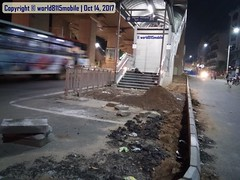 Hyderabad Metro - Footpath and landscaping works in progress at Mettuguda Metro Station (world8115) Tags: hyderabad telangana india 2017 bhagyanagar telengana testrun trialrun testruns trialruns trial load testing oscillation electrical ohe హైదరాబాదు హైదరాబాదుమెట్రోరైలు మెట్రోరైలు రైలు మెట్రో తెలంగాణ हैदराबाद भाग्यनगर hyderabadmetro metro subway hmr hmrl lt landt infra nvsreddy ప్రాజెక్ project rapid transit publictransport southindia mass transport infrastructure heavy rail railway track station mettuguda southlalaguda lalaguda secunderabad system systems