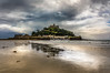 Castle under the clouds (Photography by Julia Martin) Tags: photographybyjuliamartin stmichaelsmount marazion cornwall stormyweather wetreflections lowtide castle stormclouds