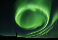 Vortex (yan08865) Tags: alaska night aurora sky outdoor earth nature lights landscapes winter solo person pics photographers there be storm a brewin pavlis awsome blueribbonwinner