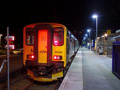 150246 St Ives (Marky7890) Tags: gwr 150246 class150 sprinter 2a49 stives railway cornwall stivesbayline train night