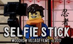 Selfie Stick https://youtu.be/mw6w_9-5wps (woodrowvillage) Tags: lego mini figure minifigure selfie stick brickfilm comedy moc photo youtube woodrow village films build blocks play toys fun