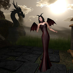 LuceMia - The Darkness Event (2018 SAFAS AWARD WINNER - Favorite Blogger -) Tags: the darkness monthly event sl new halloween dragon blod tameless posesion poses models mesh exclusive gift lucemia