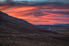 Tongues of Red (Kirk Lougheed) Tags: california easternsierra inyonationalforest mcgeecanyon monocounty sierranevada sierras usa unitedstates autumn fall landscape outdoor sunset