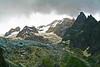IMG_1321 Massiccio del Monte Bianco dalla Val Veny, Valle d'Aosta (Giovanni Pilone) Tags: valledaosta montebianco paesaggio valveny landscape mountains montagna cielo sky clouds nuvole alpi alpigraie ghiacciaio glacier neve roccia versantedellamontagna