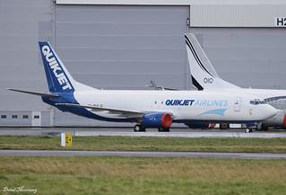 Quikjet Cargo Airlines 737-400F VT-SVA