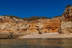 Praia da Corredoura (grzegorzmielczarek) Tags: strand beach praia praiadacorredoura algarve boattrip portugal lagoa faro pt