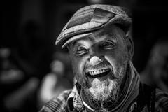 Jan Rolph von Heidweiler, aka Pope Rolli the first (AlphaAndi) Tags: mono monochrome trier tiefenschrfe dof sony wow gesicht nahaufnahme face fullframe vollformat streets streetshots streetshooting streetportrait portrait leute personen people menschen menschenbilder