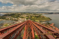 Forth Rail Bridge Viewing Platform (Chris_Hoskins) Tags: unescoworldheritagesite wwwexpressionsofscotlandcom scottishlandscapephotography landscape centralscotland viewingplatform scottishlandscape firthofforth scotland forthrailbridge