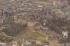 Edinburgh Castle from the air (Chris_Hoskins) Tags: aerialphotography scottishlandscape wwwexpressionsofscotlandcom scottishlandscapephotography landscape centralscotland edinburgh scotland