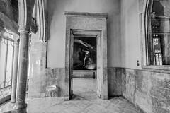 Barcelone (guillaumejulien35) Tags: eos5d canon guell peinture musée intérieur indoor barcelone barcelona espagne catalogne noiretblanc blackwhite art architecture