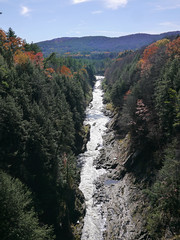 Quechee Gorge (grongar) Tags: gorge river quechee vermont autumn fall foliage