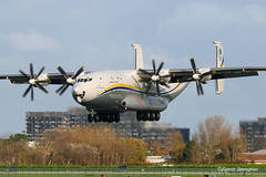 UR-09307 Antonov Airlines (Antonov Design Bureau) Antonov An-22 (Planes , ships and trains!) Tags: ur09307 antonov airlines antonovdesignbureau an22 ostendairport ostend ebos 4engines cargo cargoplane canon canonphotography canon7dmkii camera canon70300mml autumn landinggear landing russian russianhardware russianbuilt propellor contraryprops popular top topshot bestshot best hot hotshot flickr bestofflickr flickrtop view amazing beautiful colors colorful dslr photography fantastic outdoor planeporn planespotter avgeek aviation aircraft airplane planespotting flying pilot bruges international ost