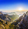 Huangshan, China (Alex Tudorica) Tags: china huangshan yellow mountains sunrise trees forest morning frost ray rays fog mist dew chinese asia asian top world heaven clouds ice blue sky