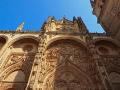 P9060586 (simonrwilkinson) Tags: salamanca castileandleón spain newcathedral doorway door portal west