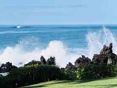 1 of Ocean Fireworks (Robert Cowlishaw (Mertonian)) Tags: oceanfireworks thebigisland hawaii robertcowlishaw mertonian canonpowershotg7xmarkii markii g7x powershot canon beauty beautiful holy sublime wonder awe ineffable peace solitude blissful shore oceanfront