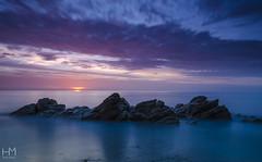 White Rock 30Oct2017 5-2 (Helen Mulvey) Tags: whiterock killiney beach coast sunrise dawn daybreak seascape tide water sky nikon d5100 pink longexposure outdoors landscape earlymorning morning